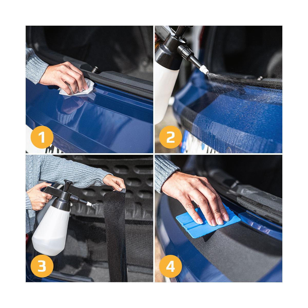 Ladekantenschutz Lack Schutz Folie TRANSPARENT Fr Dacia Duster I ...