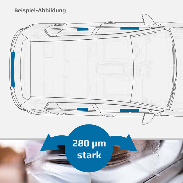 Schutzfolien-Set - TRANSPARENT - VW T5 Facelift ab 2009