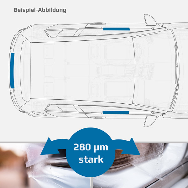 Schutzfolien-Set - TRANSPARENT - MERCEDES A-KLASSE...
