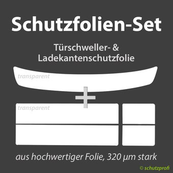 Schutzfolien-Set - TRANSPARENT -  OPEL VECTRA C Stufenheck
