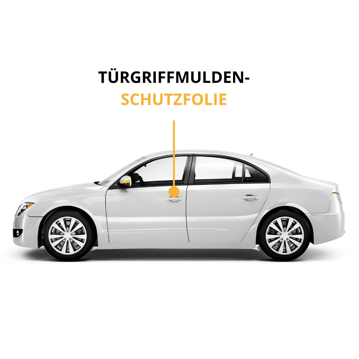 LADEKANTENSCHUTZ Lackschutzfolie für RENAULT MEGANE Limousine Z  150µm stark